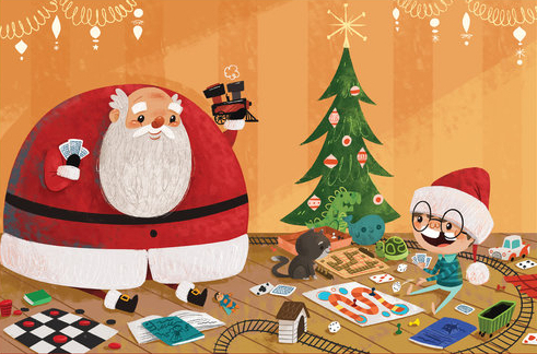 celebrate-picture-books-picture-book-review-the-day-santa-stopped-believing-in-harold-toys