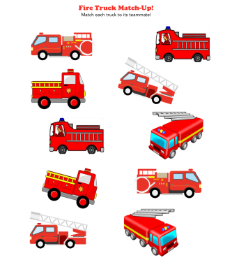 Fire Truck Match