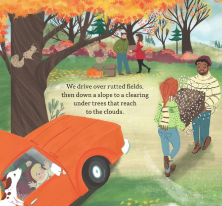 celebrate-picture-books-picture-book-review-thanksgiving-in-the-woods-clearing