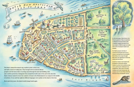 celebrate-picture-books-picture-book-review-manhattan-mapping-the-story-of-an-island-dutch