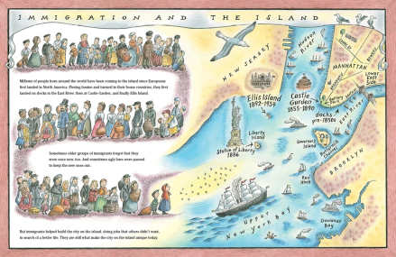celebrate-picture-books-picture-book-review-manhattan-mapping-the-story-of-an-island-immigration