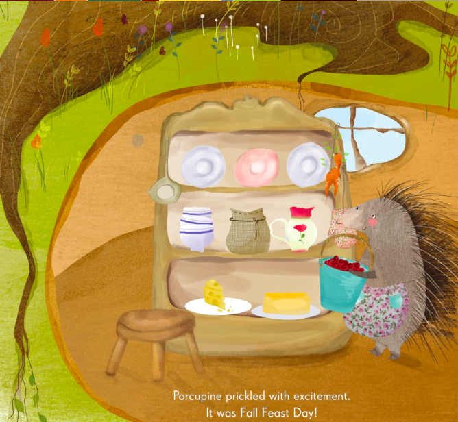 celebrate-picture-books-picture-book-review-porcupine's-pie-pantry