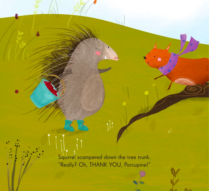 celebrate-picture-books-picture-book-review-porcupine's-pie-thank-you
