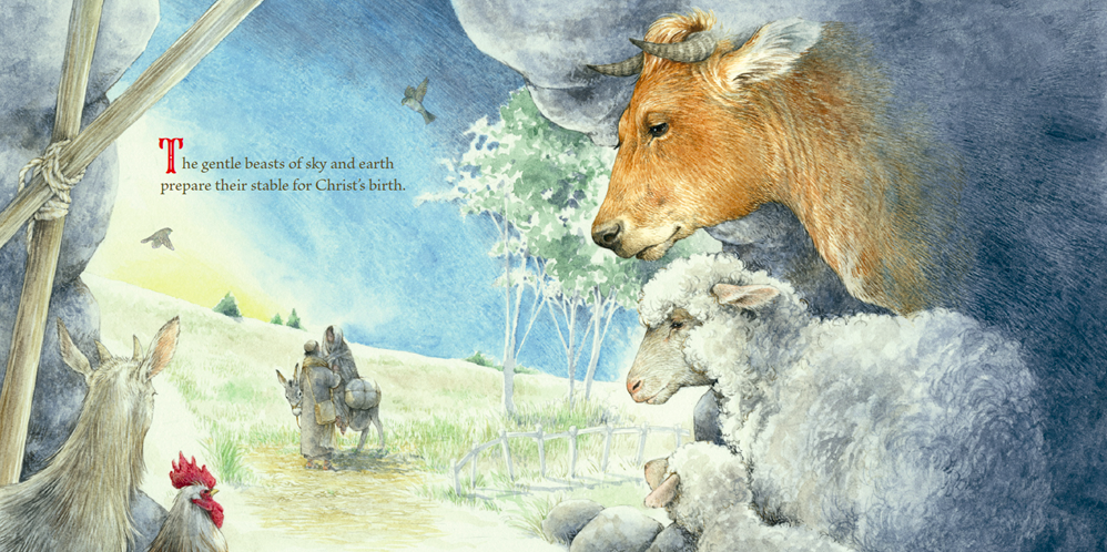 celebrate-picture-books-picture-book-review-the-gifts-of-the-animals-mary-and-joseph