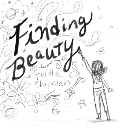 celebrate-picture-books-picture-book-review-Finding-Beauty-cover-sketch-painting
