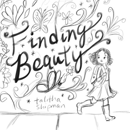 celebrate-picture-books-picture-book-review-Finding-Beauty-cover-sketch-walking-1