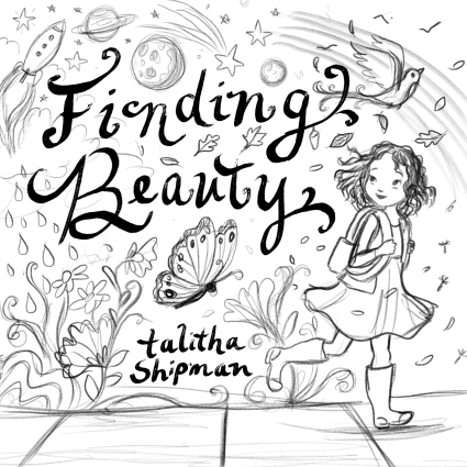 celebrate-picture-books-picture-book-review-Finding-Beauty-cover-sketch-walking-2