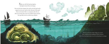 celebrate-picture-books-picture-book-review-nian-the-chinese-new-year-dragon-nian's-cave