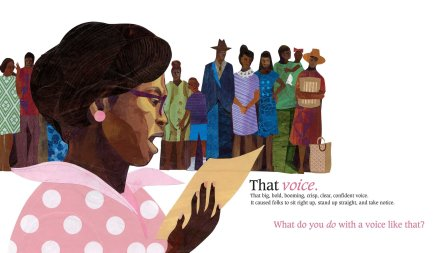 celebrate-picture-books-picture-book-review-what-do-you-do-with-a-voice-like-that-speaking