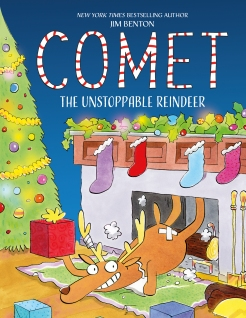 celebrate-picture-books-picture-book-review-comet-the unstoppable-reindeer-cover