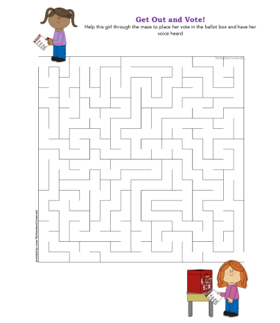 celebrate-picture-books-picture-book-review-get-out-and-vote-maze