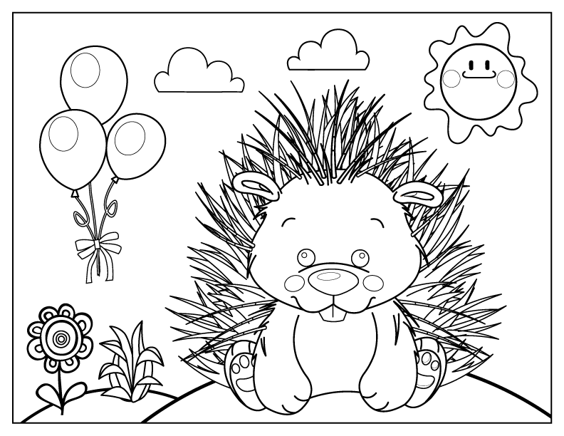 celebrate-picture-books-picture-book-review-porcupine-coloring-page