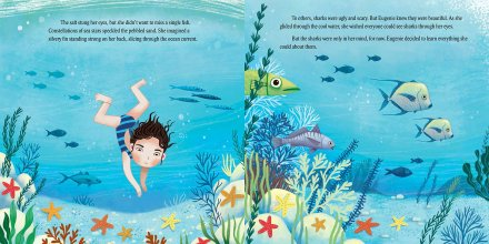 celebrate-picture-books-picture-book-review-shark-lady-diving