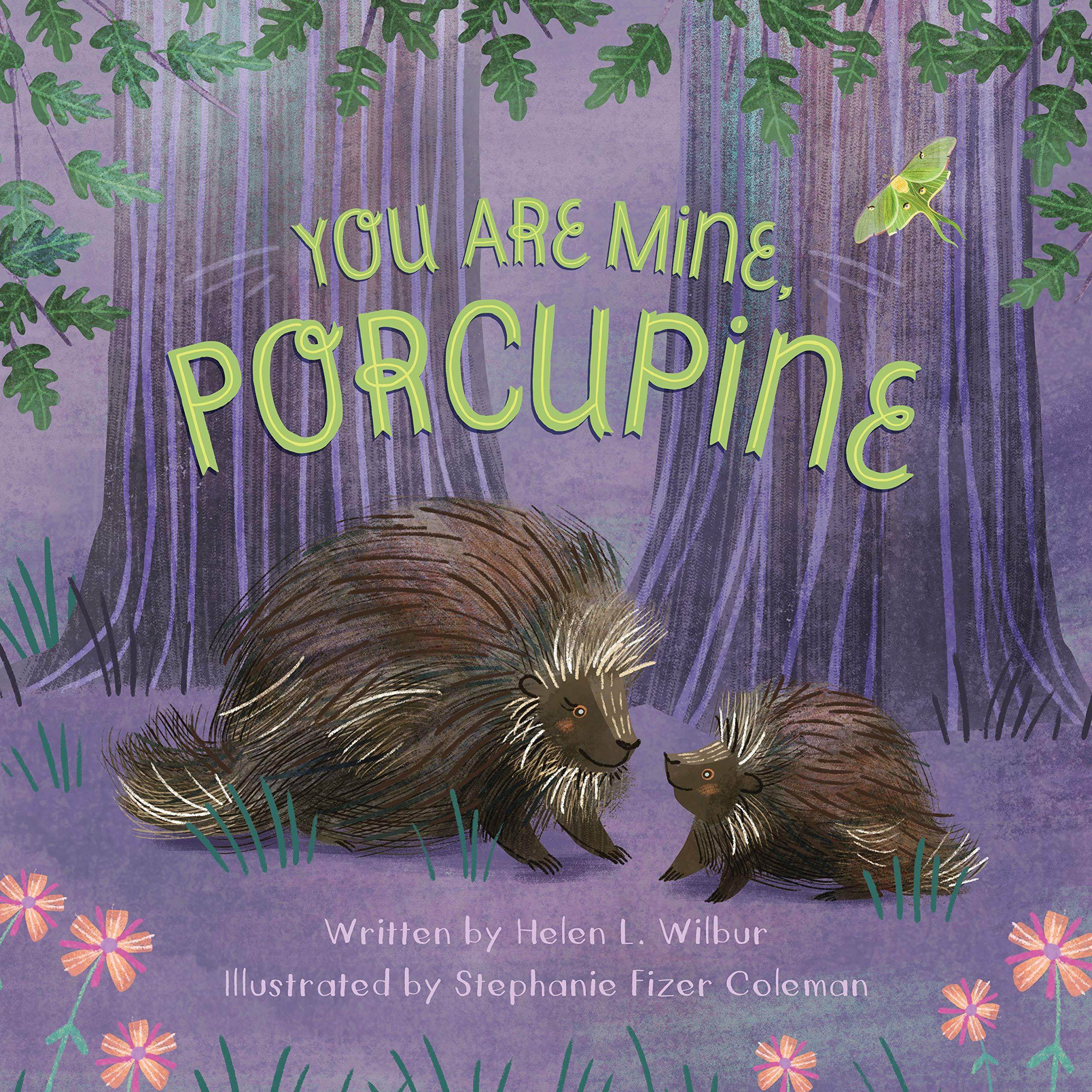celebrate-picture-books-picture-book-review-you-are-mine-porcupine-cover