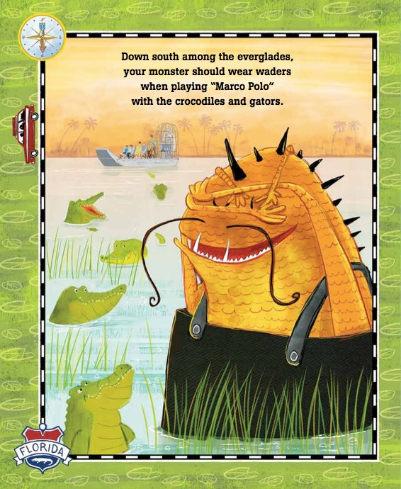 celebrate-picture-books-picture-book-review-travel-guide-for-monsters-everglades