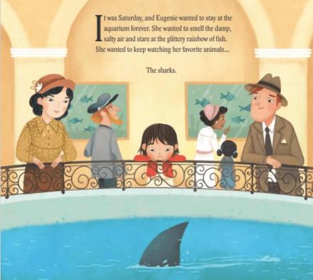 celebrate-picture-books-picture-book-review-shark-lady-aquarium