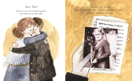 celebrate-picture-books-picture-book-review-the-vote-that-won-the-vote-Harry-Burn