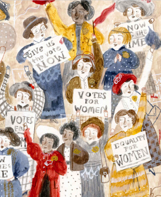 celebrate-picture-books-picture-book-review-the-vote-that-won-the-vote-suffragettes