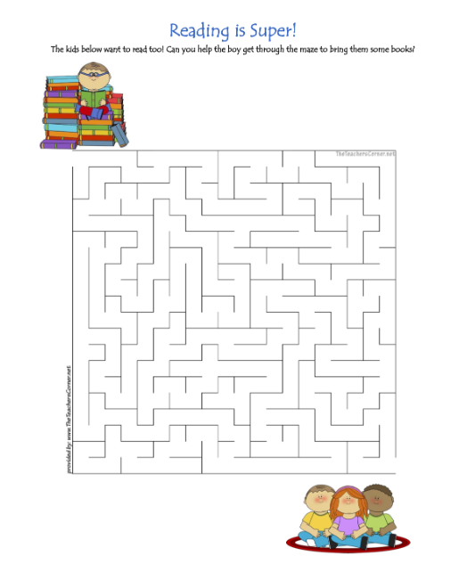 celebrate-picture-books-picture-book-review-reading-is-super-maze