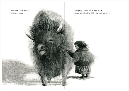 celebrate-picture-books-picture-book-review-my-bison-come-near