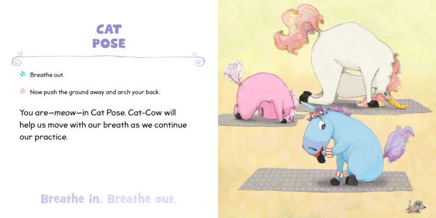 celebrate-picture-books-picture-book-review-unicorn-yoga-cat-pose