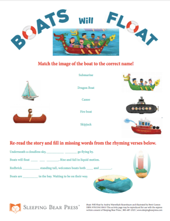 Sleeping-Bear-Press-Boats-Will-Float-Activity-Page