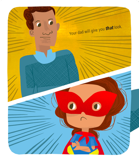 celebrate-picture-books-picture-book-review-superheroes-don't-babysit-that-look