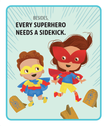 celebrate-picture-books-picture-book-review-superheroes-don't-babysit-sidekick