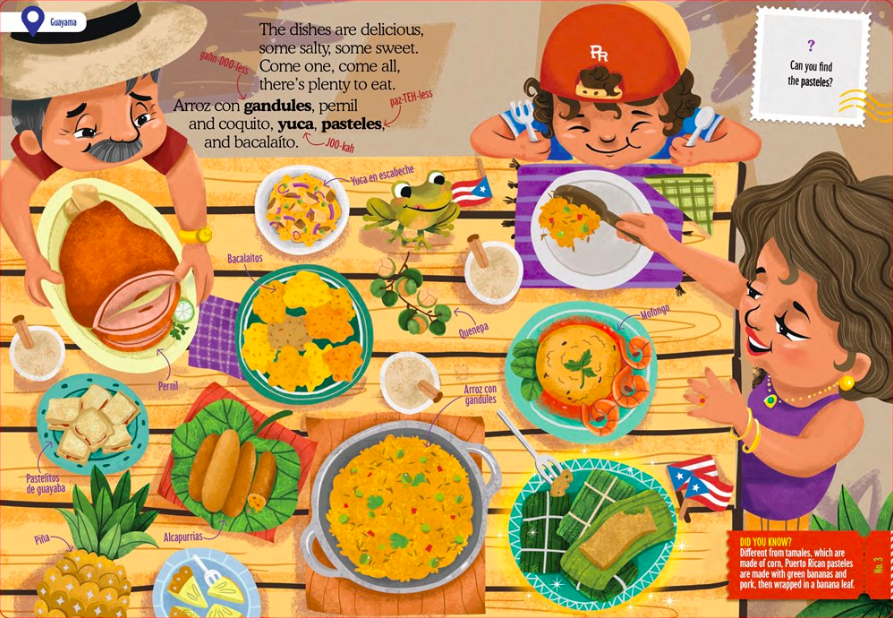 celebrate-picture-books-picture-book-review-tiny-travelers-puerto-rico-food
