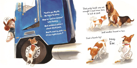 celebrate-picture-books-picture-book-review-where'd-my-jo-go-hounds