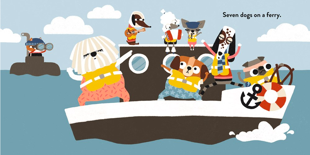 celebrate-picture-books-picture-book-review-two-dogs-on-a-trike-boat