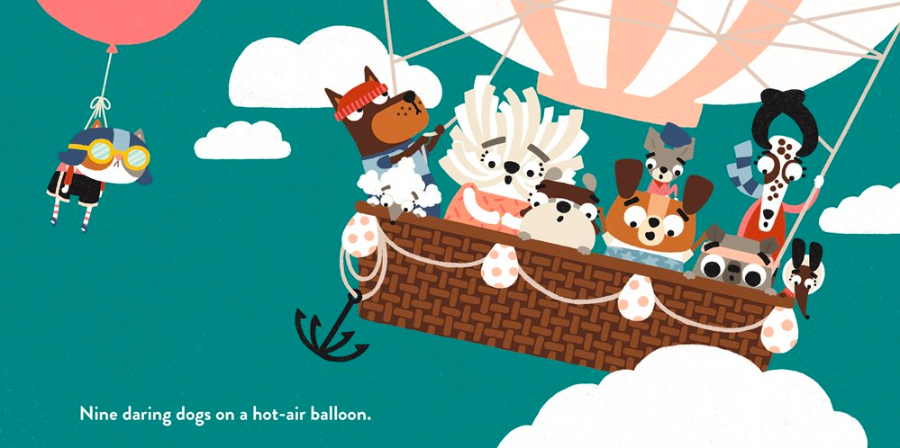 celebrate-picture-books-picture-book-review-two-dogs-on-a-trike-hot-air-balloon