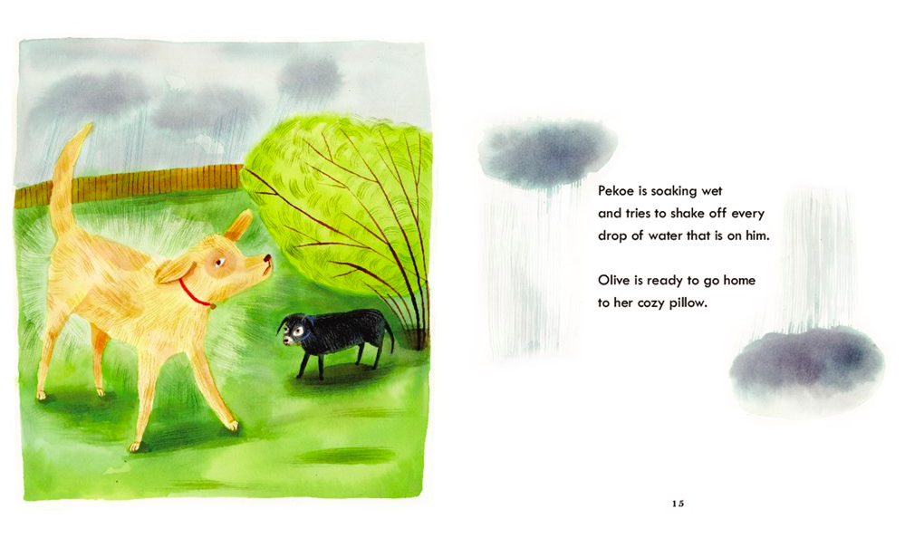 celebrate-picture-books-picture-book-review-olive-and-pekoe-walk-soaking-wet