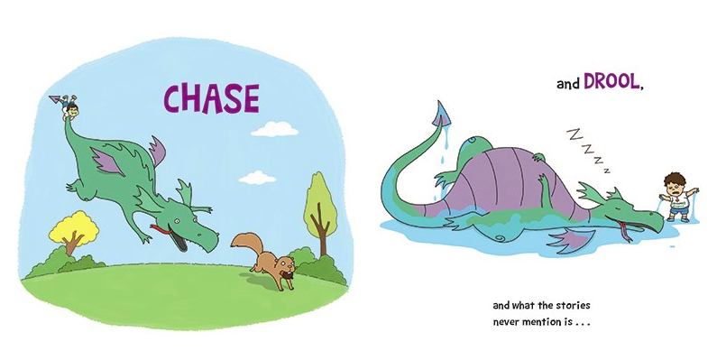 celebrate-picture-books-picture-book-review-you-dont-want-a-dragon-chase