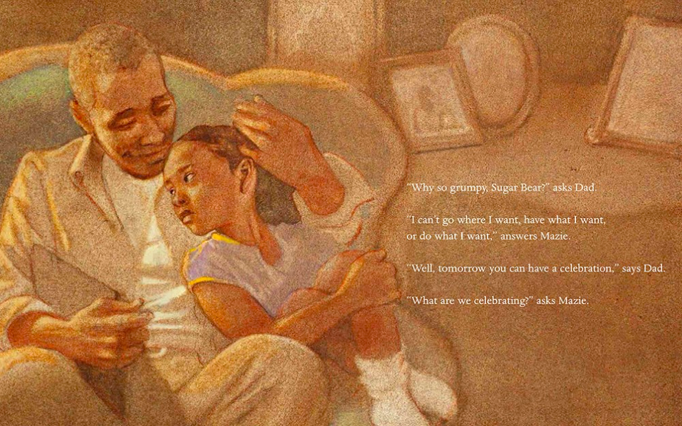 celebrate-picture-books-picture-book-review-juneteenth-for-maize-dad