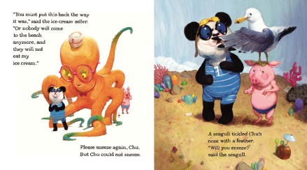 celebrate-picture-books-picture-book-review-chu's-day-at-the-beach-sneeze