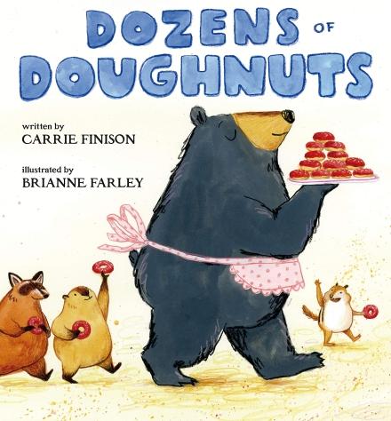 celebrate-picture-books-picture-book-review-dozens-of-doughnuts-cover