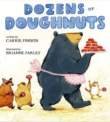 celebrate-picture-books-picture-book-review-dozens-of-doughnuts-cover