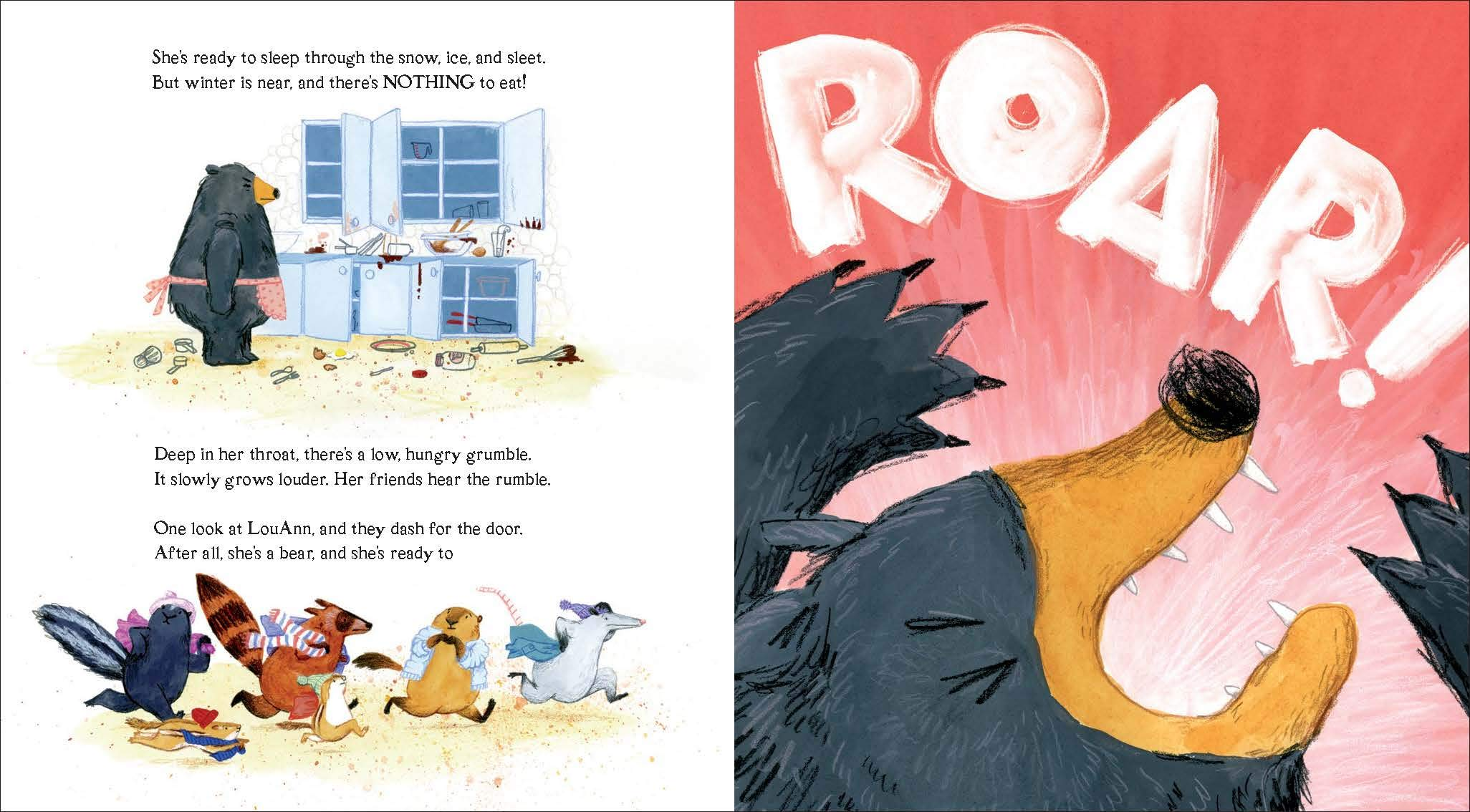 celebrate-picture-books-picture-book-review-dozens-of-doughnuts-roar