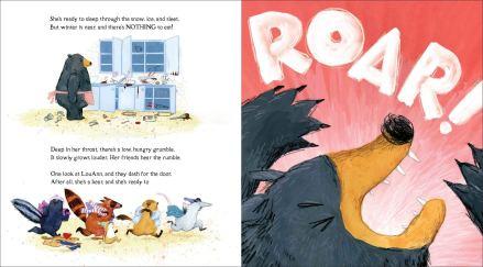 celebrate-picture-books-picture-book-review-dozens-of-doughnuts-roar