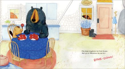 celebrate-picture-books-picture-book-review-dozens-of-doughnuts-woodrow