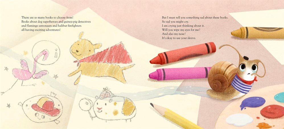 celebrate-picture-books-picture-book-review-a-book-for-escargot-crayons