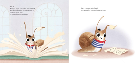 celebrate-picture-books-picture-book-review-a-book-for-escargot-turning-eating-pages