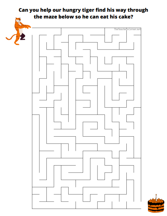 celebrate-picture-books-picture-book-review-tiger-maze