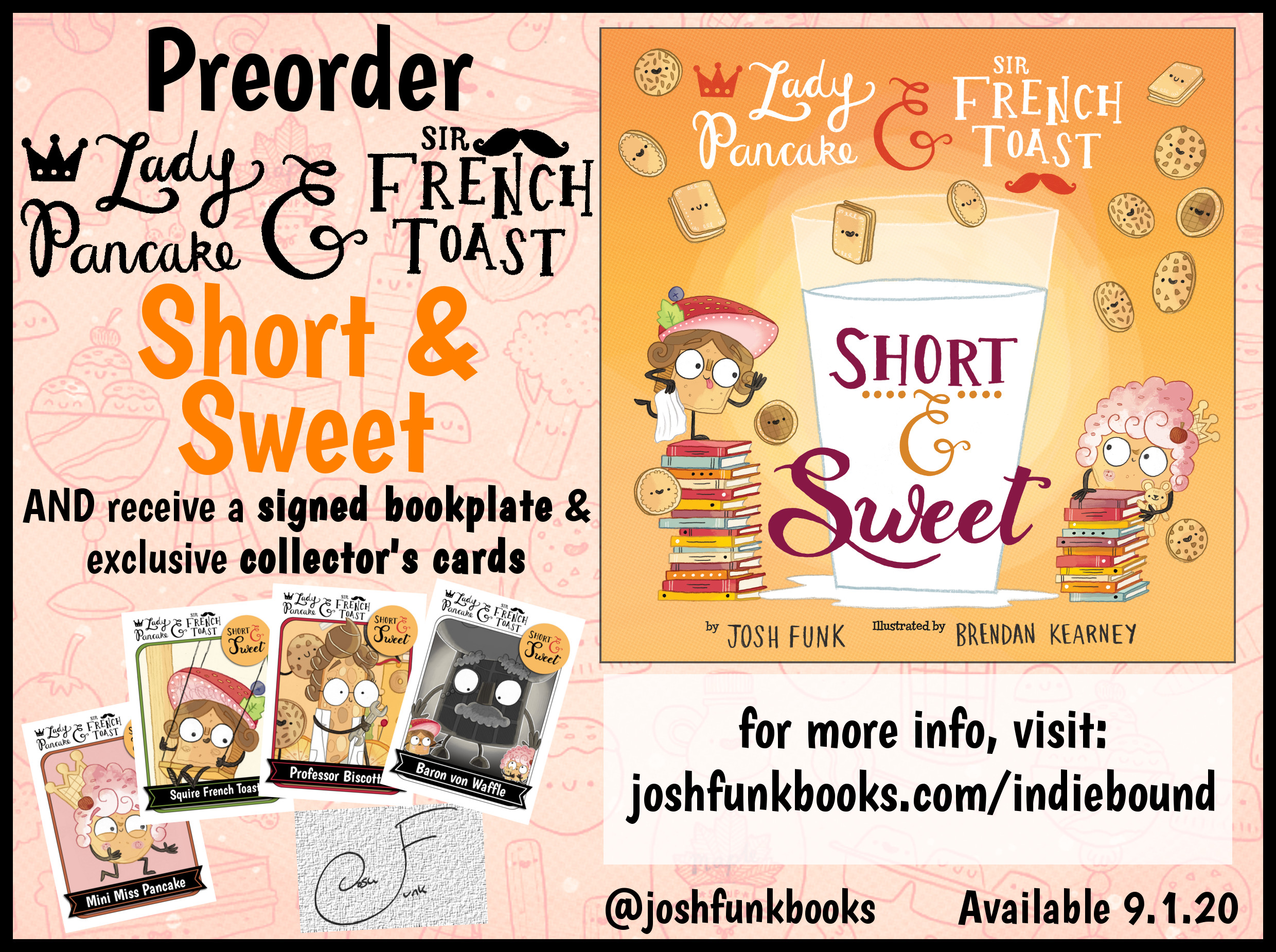 Short & Sweet Preorder Swag