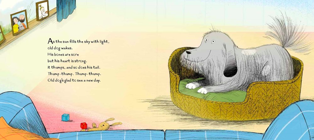 celebrate-picture-books-picture-book-review-this-old-dog-morning