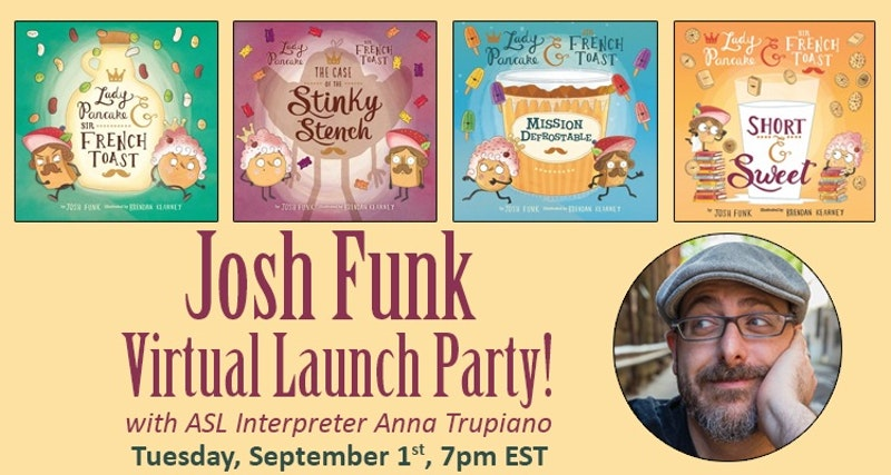 Short & Sweet Virtual Launch Party with An Unlikely Story bookstore