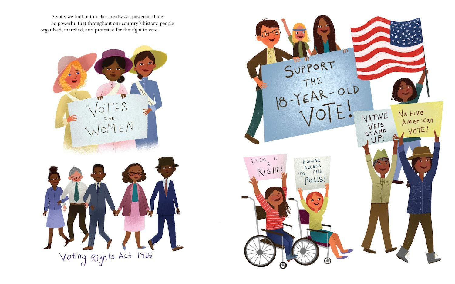 celebrate-picture-books-picture-book-review-a-vote-is-a-powerful-thing-voting