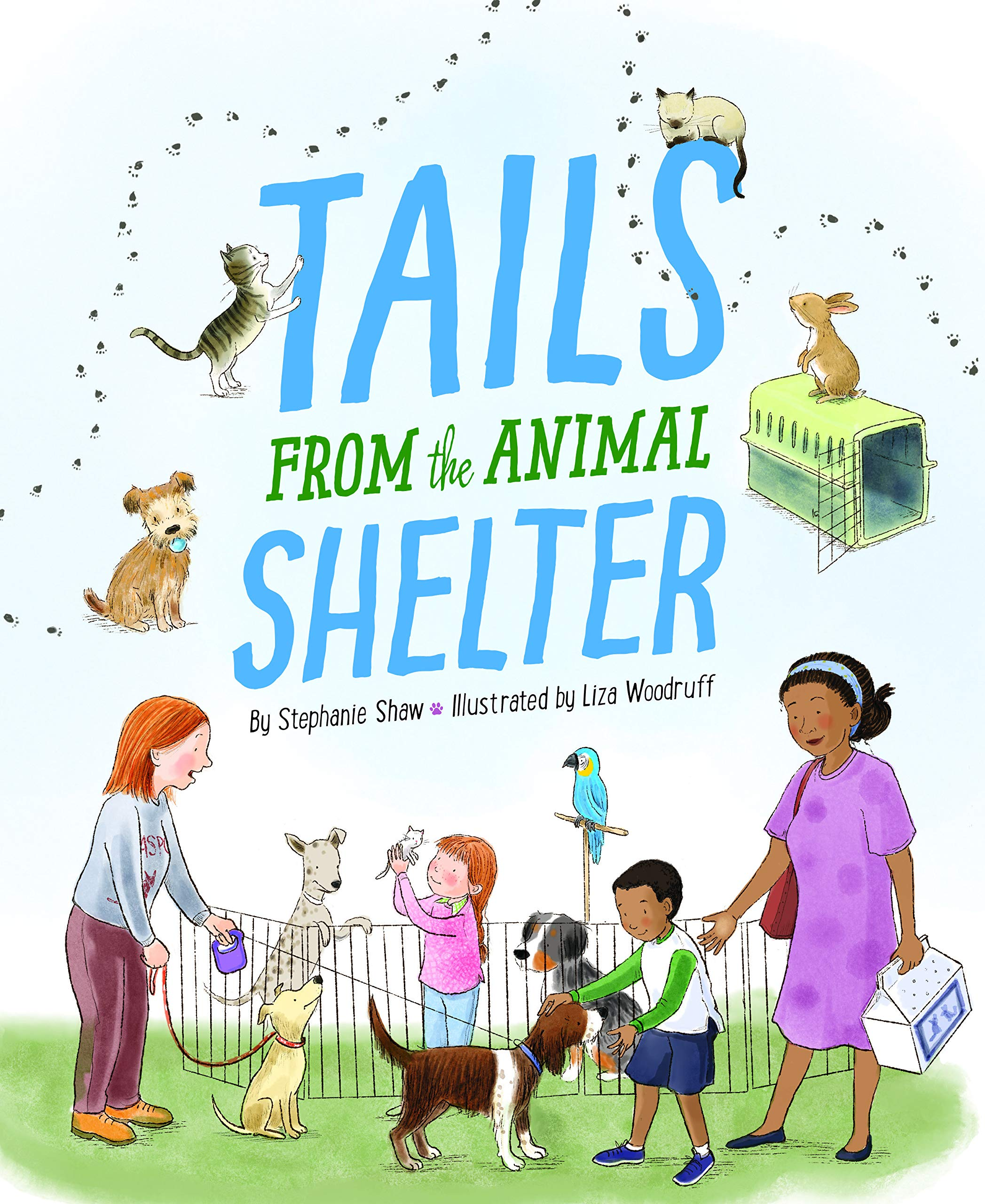 celebrate-picture-books-picture-book-review-tails-from-the-animal-shelter-cover