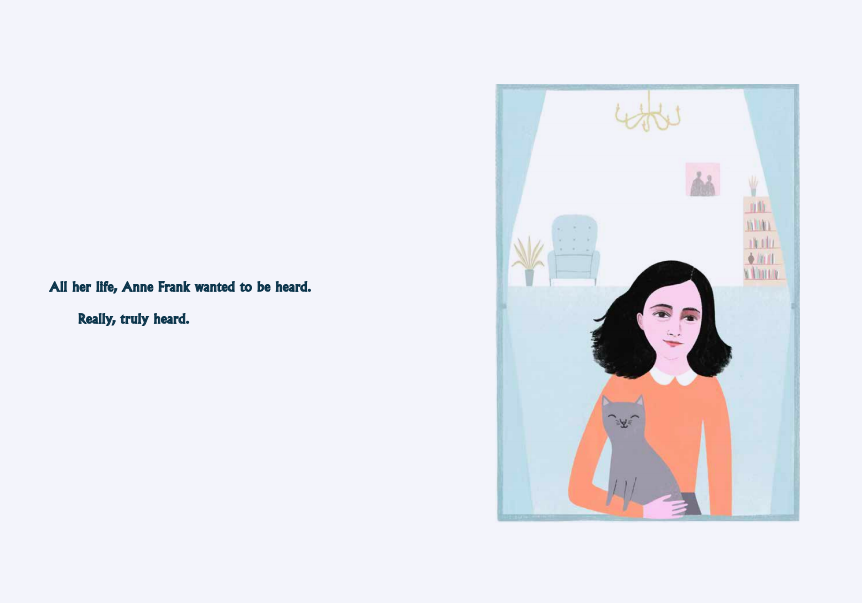 celebrate-picture-books-picture-book-review-anne-frank-the-girl-heard-around-the-world-portrait